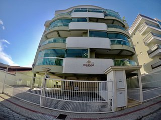 Apartamento 300m da praia para até 5 pessoas