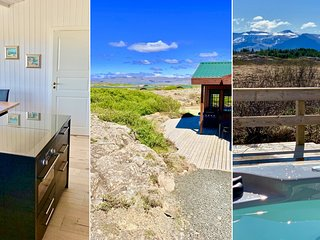 Two Luxury Houses for 16 Guests with HotTubs close to Snæfellsjökull Glacier