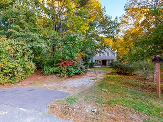 Historical home with a large yard, gazebo, firepit & gas grill!