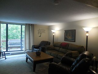 Enjoy this 4 bedroom 4 bath condo. It is across the road from the ski slopes.