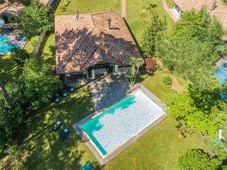 Jolie Villa 4 pièces avec piscine privée, près des plages