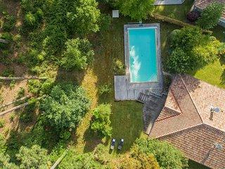 Villa moderne et spacieuse 12p, avec piscine privée