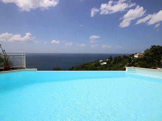 Villla Mirage: Villa 4 chambres avec piscine, Vue imprenable sur la mer