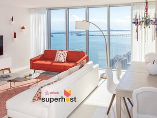 ★Large Luxury Oceanfront High-Ceiling★Luxury Amenities★European Design★F