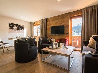 Appartement de Montagne pour 9 | Balcon Privé + Accès Espace Bien-Être