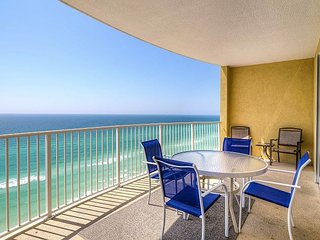 Panama City Beach Condo on Beach w/ Scenic Balcony, Pool & Hot Tubs