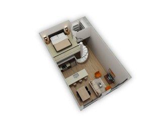 Biltmore at Camelback One Bedroom Loft