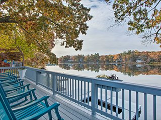 Football Fans Lake Retreat - 5 Mins to Gillette!