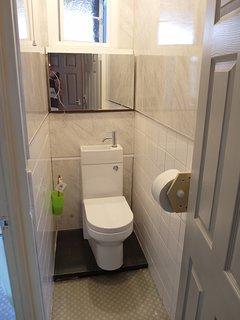 Separate W.C. + Wash basin