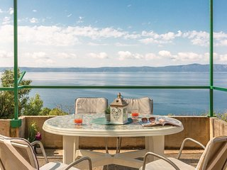 Amazing home in Podgora w/ WiFi and 1 Bedrooms