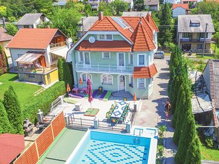 Awesome home in Vonyarcvashegy w/ WiFi and 6 Bedrooms