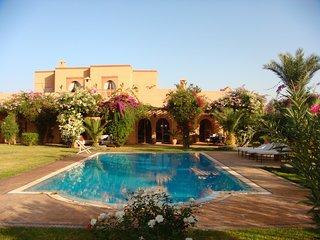 Belle villa de charme a proximite des plus  beaux golfs de Marrakech