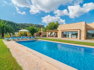 PUIG DE SA BASSA - Villa for 10 people in Son Servera