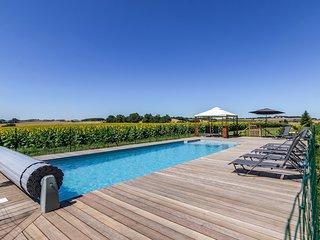 Lamothe-Goas Chateau Sleeps 20 with Pool - 5719868