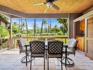 Fairway View from Lanai w/Wet Bar! Kitchen+Laundry Perks, Ceiling Fans