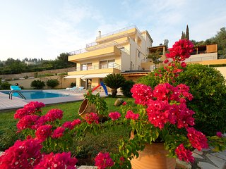 Villa Thea Mare with the STUNNING sea view & the fresh water pool