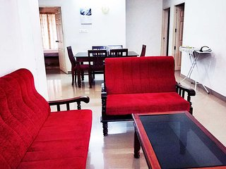 Honey bee 2-Bedroom Serviced Apartment Trivandrum