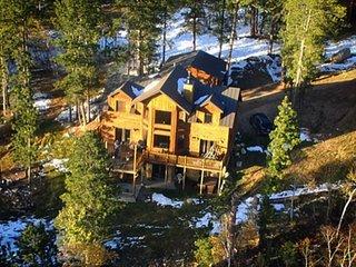 Luxury Cabin in the Black Hills of South Dakota, Terry Peak, Deadwood, Skiing,