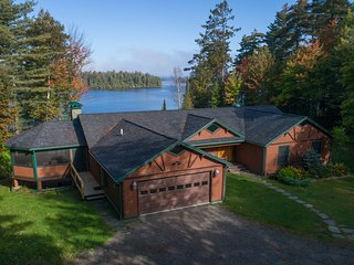 Upper Saranac Luxury Lakefront Home, All Seasons!