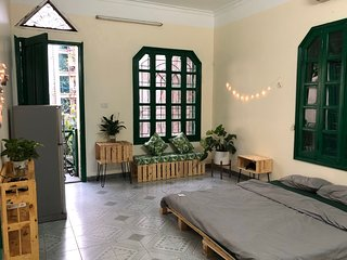 Simple but cozy and greeny Homestay located in center of Hanoi, affordable price