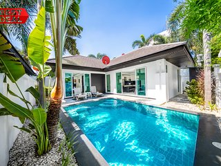 VILLA IN PATTAYA DELUXE 2 Bedroom with Private Pool, BBQ Grill