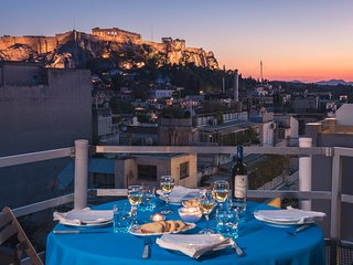 BREATHTAKING VIEW OF THE  ACROPOLIS AT THE VERY  BEST LOCATION!