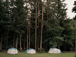 Rental tent for 2 per - Forest Camping Mozirje