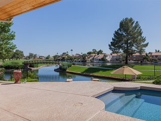 4BR Ocotillo Home, On the Lake and Golf Course