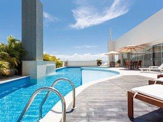 Apt 6p estrutura de clube piscina e churrasq