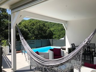 Terrasse et son hamac
