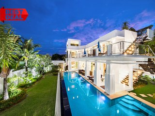 PREMIUM Pool Villa Pattaya 5 Bedroom, BBQ Grill, Jacuzzi