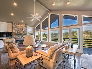NEW! Ruidoso Abode w/ Mtn Views & Wraparound Deck!
