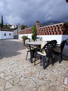 Barbacoa y Terraza