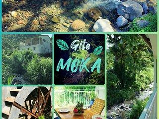 Gîte MOKA - Bord de. Rivière