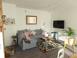 Duplex 70m2, WIFI, 2 chambres, balcon/terrasse plein sud,proximite funiculaire