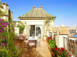Alameda Penthouse. 2 bedrooms, 2 bathrooms, private terrace