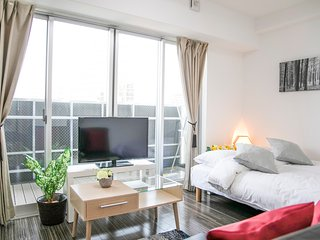【Nipponbahi House K01】Osaka Good location Nipponbashi st 4min