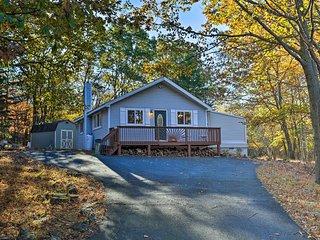 NEW! Poconos Home, 2 Mi. to Indian Mountain Lake!
