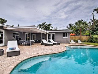 NEW! Tropical Wilton Manors Home w/ Outdoor Oasis!