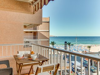 Oceanfront condo with partial sea views and easy beach access