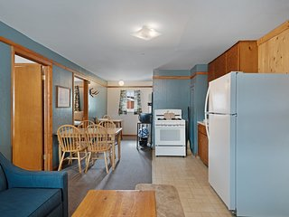 Cozy lodge cabin w/ shared hot tubs, access to year-round outdoor fun - dogs ok!