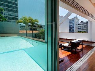 Rio132-Luxurious 4 Bedroom Penthouse in Leblon