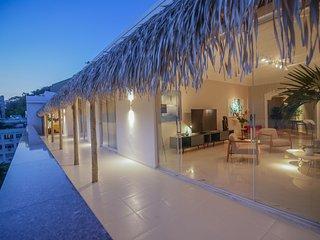 Rio088 - Beautiful 6 Bedroom penthouse in Ipanema