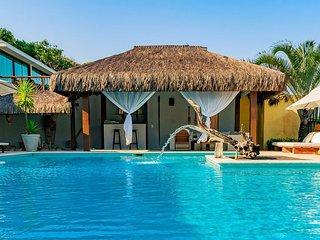 Bah245-Beautiful house standing on the sand in Arraial D'ajuda Bah245
