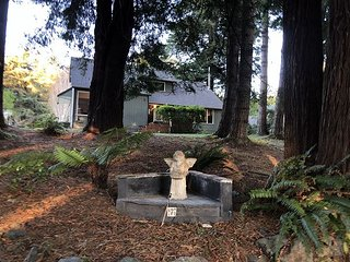 New Abalone House~25% off Holiday Special~Large Wooded Home w/ Hot Tub.