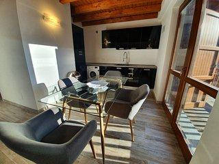 Cozy luxe mountain apartment