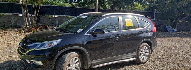 Notre voiture de location Honda CRV 2015. Fourchette de coût de 25 $ à 60 $ / jour en fonction de la durée du séjour