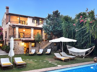 Luxury villa, private pool, garden, gym, privacy, serenity