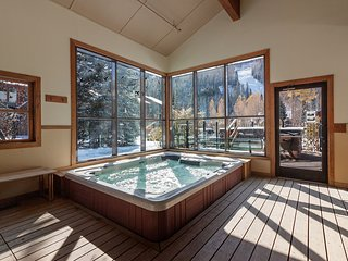 Cozy ski-in/ski-out studio w/ shared hot tub, in an ideal location!