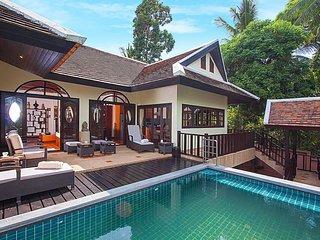 Maprow Palm Villa 301    3 Bed Pool Villa at Bophut Samui